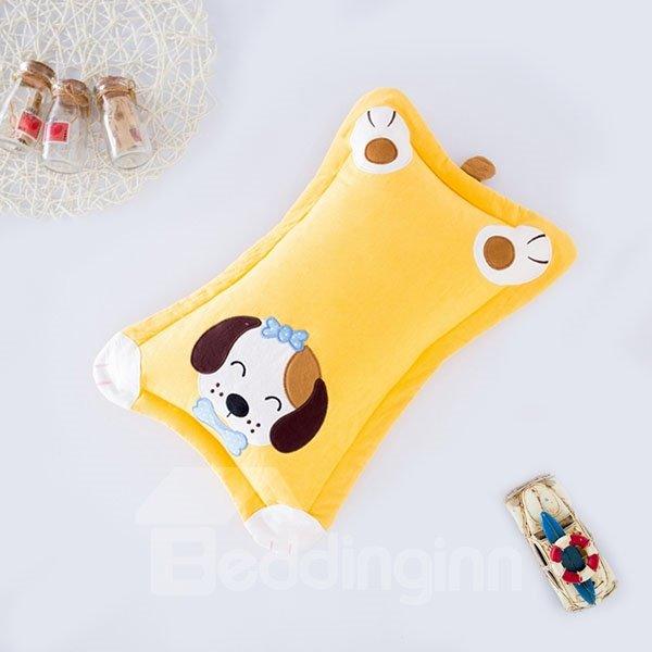 Classic Design Super Cute Puppy Print Baby Pillow