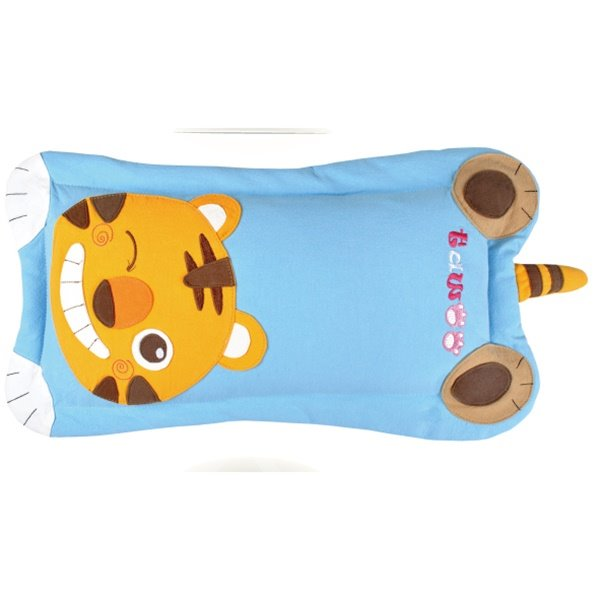 Lively Little Tiger Print Baby Pillow with Cute Tail