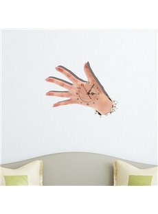 3D Creative Hand Wall Clock
