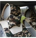 Ventilate Fashionable Camouflage Paint Five Seats Car Seat Covers