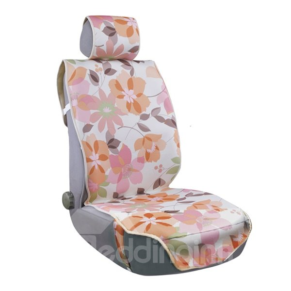 Ventilate Rustic Parquet Pattern Five Seats Car Seat