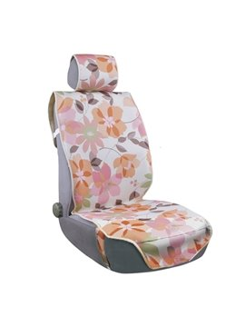Ventilate Rustic Parquet Pattern Five Seats Car Seat Covers