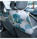 Ventilate Rustic Parquet Pattern Five Seats Car Seat Covers