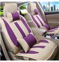 Ventilate Concise Linen Five Seats Car Seat Covers