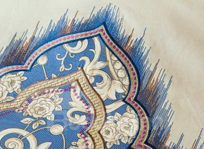 Unique Paisley Flourishing Pattern Pure Cotton 4-Piece Duvet Cover Sets