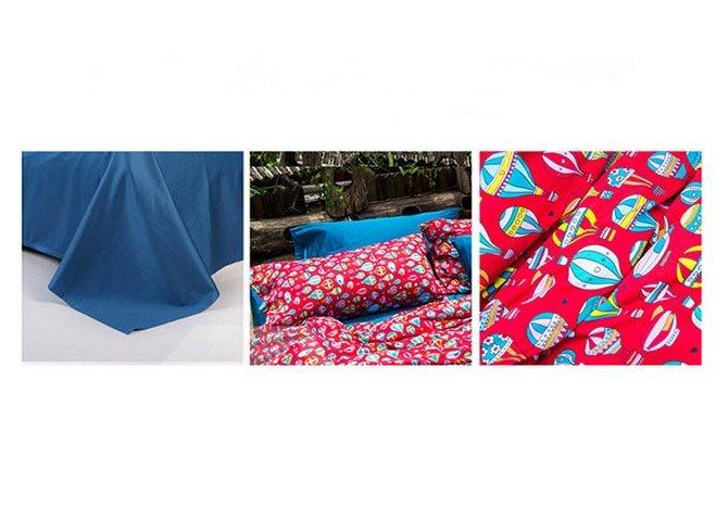 Fabulous Cartoon Hot Air Balloon Design Cotton 4-Piece Duvet Cover Sets