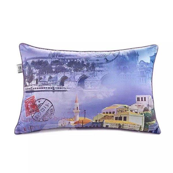 Italian Landscape Paint Throw Pillow