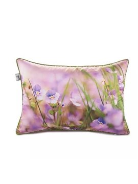 Purple Irises Paint Throw Pillow