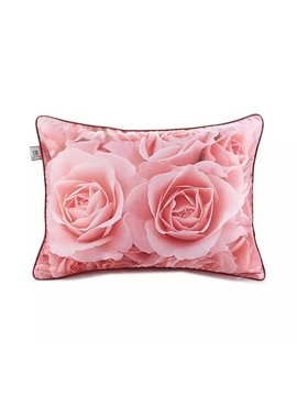 Blooming Champagne Roses Paint Throw Pillow