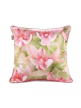 Tender Flowers Paint Throw Pillow