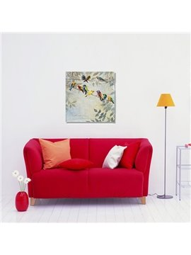 Amazing Modern Creative birds in Field 1-Panel Wall Art Print