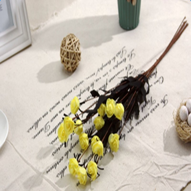 Beautiful Little Rose Bouquet Home Decorative Artificial Flowers
