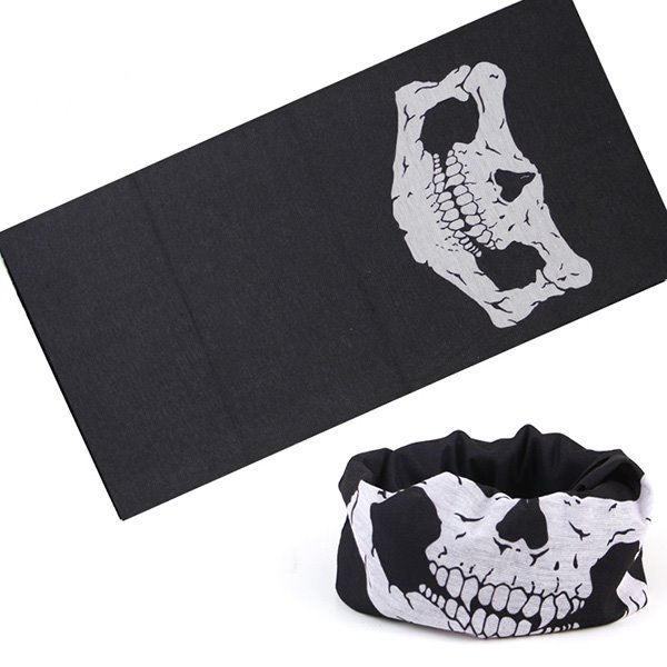 Versatile Skull Sports & Casual 100% Microfiber Head Wear