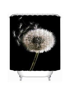 New Arrival Dandelion Print 3D Shower Curtain