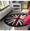 Simple England Style Living Room Area Rugs With Union Jack