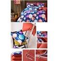 Colourful Lanterns Cotton 4-Piece Duvet Cover Sets