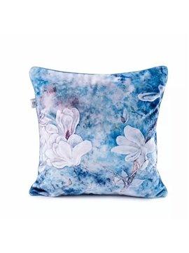 Elegant White Lilies Paint Throw Pillow Case