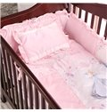 Cartoon Pattern Cotton Princess 9-Piece Baby Crib Duvet Covers/Bedding Sets