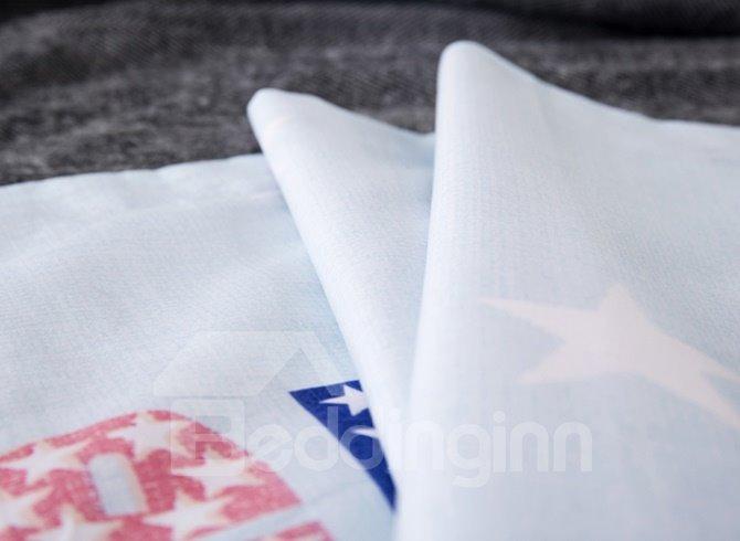 Cute Piggy Printing 4-Piece Duvet Cover Sets