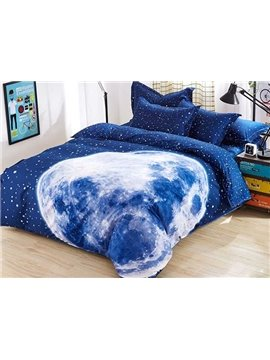 Charming Big Moon 4-Piece Duvet Cover Sets