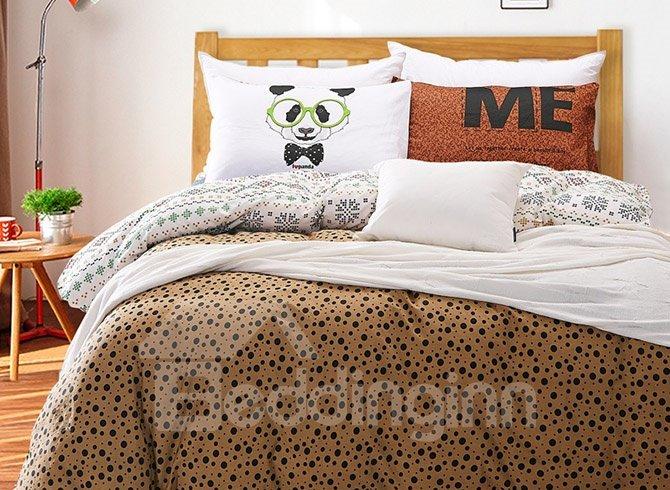 Cute Animal Print 4-Piece Duvet Cover Sets