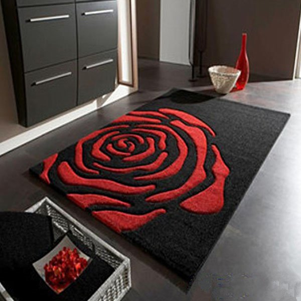 simple individuality rose area rugs for living room - beddinginn