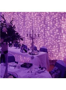 Purple Waterproof Wedding or Festival Decoration String LED Lights