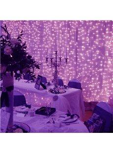 Purple Waterproof Wedding or Festival Decoration String LED Lights