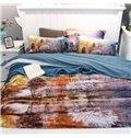New Arrival Splendid Scenery 4-Piece Print Cotton Bedding Set