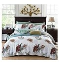 Soft American Country Style Floral 4-Piece Print Cotton Bedding Set