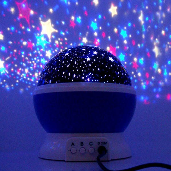 Moon/Stars and Blue Sky Projector USB LED Lights