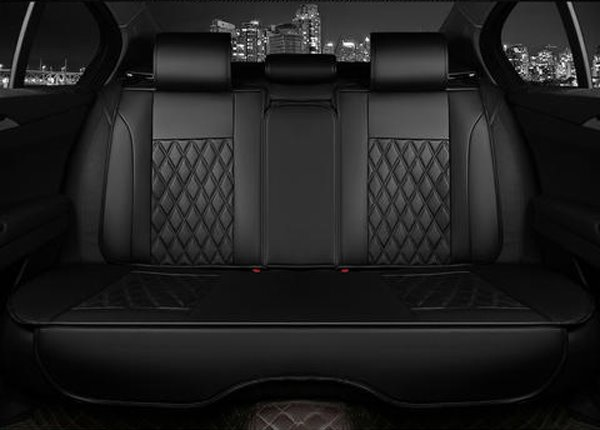 Business Style Diamond Pattern Design Universal Car Seat Covers