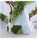Top Class Vivid Leopard Print 4-Piece Cotton Duvet Cover Sets