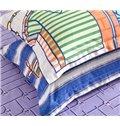 Modern Fashion Unique Clothes Print 4-Piece Pure Cotton Duvet Cover Sets