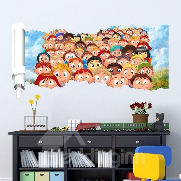 New Arrival Cartoon Pattern 3D Wall Stickers