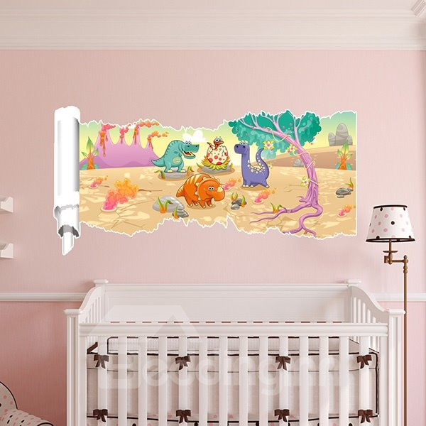 Very Cute Dragon Patern 3D Wall Stickers