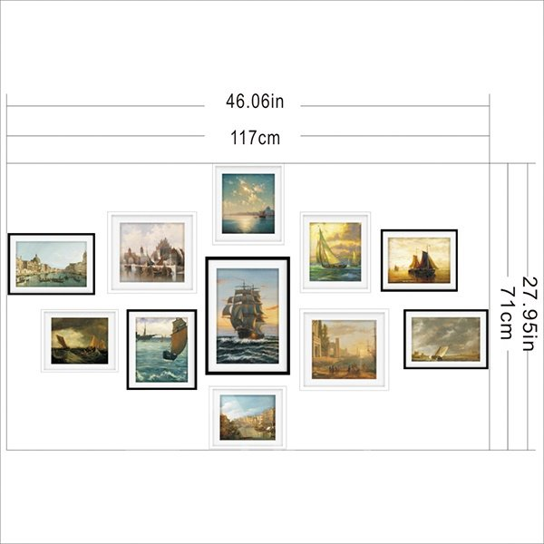 New Arrival Sunset Scenery Pattern 3D Wall Art Prints