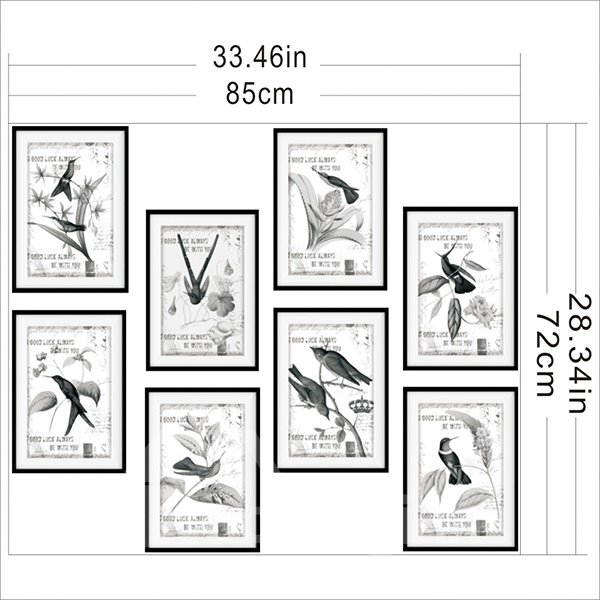 New Arrival Bird Pattern 3D Bathtub Stickers