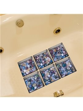 Creative Stone 3D Bathtub Stickers For Room Decoration