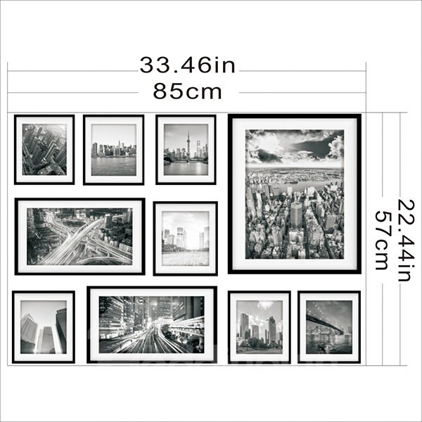 Hot Sale City Scenery Pattern Wall Art Prints