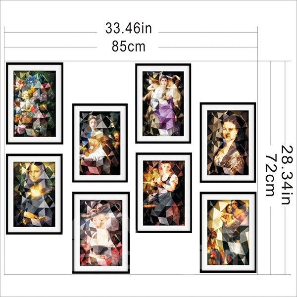 New Arrival Europe Celebrity Pattern Wall Art Prints