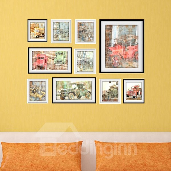 New Arrival Colorful Car Pattern Wall Art Prints
