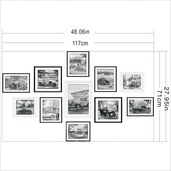 Hot Sale Ancient Car Pattern Wall Art Prints