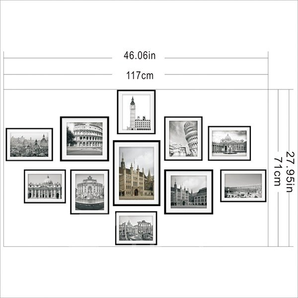 New Arrival European Style Construction Scenery Pattern Wall Art Prints