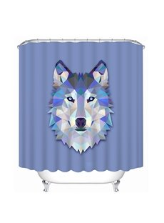 Creative Design Wolf Print 3D Bathroom Shower Curtain