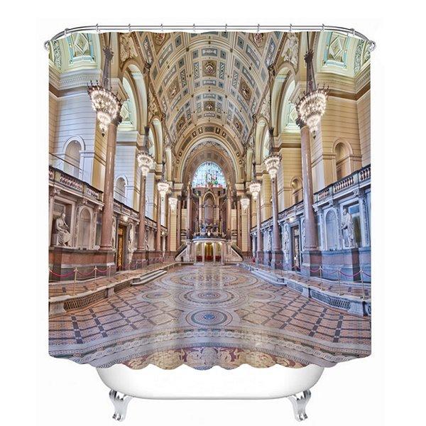 Spectacular Architecture Print 3D Bathroom Shower Curtain