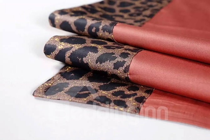 Fashion Leopard Print Cotton 4-Piece Duvet Cover Sets