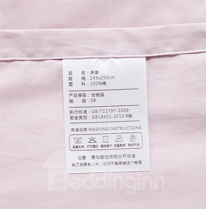 Fresh Style Splendid Flowers 4-Piece Active Print Cotton Bedding Sets
