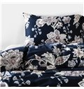 European Style Flower Pattern Cotton 4-Piece Duvet Cover Sets