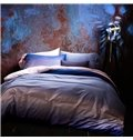 Concise Gradient Effect 4-Piece Cotton Duvet Cover Sets